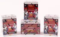 Lot of (4) 2016 Panini Football Boxes with (11) Packs Each