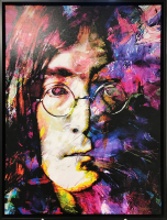 """John Lennon Study 2"" 30x40x1 Limited Edition Giclee by Mark Lewis at PristineAuction.com"