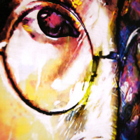 """""""John Lennon Study 2"""" 30x40x1 Limited Edition Giclee by Mark Lewis at PristineAuction.com"""
