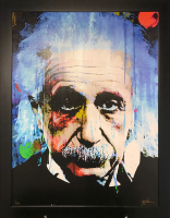 """Questioning Tomorrow - Albert Einstein"" 30x40x1 Limited Edition Giclee by Mark Lewis at PristineAuction.com"