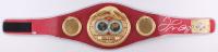 Floyd Mayweather Jr. Signed IBF Heavyweight Championship Belt (Beckett Hologram)