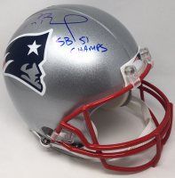 "Tom Brady Signed New England Patriots LE Full-Size Authentic On-Field Helmet ""SB 51 Champs"" (TriStar Hologram & Steiner Hologram) at PristineAuction.com"