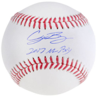 "Cody Bellinger Signed Baseball Inscribed ""2017 NL ROY"" (Fanatics Hologram) at PristineAuction.com"