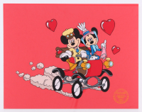 "Mickey Mouse & Minnie Mouse Walt Disney ""Nifty Nineties"" 11x14 LE Animation Serigraph Cel at PristineAuction.com"