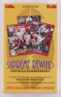 2015 Supreme Rewind Football Hobby Box (Factory Sealed)