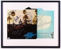 "Eagles ""Hotel California"" Record Album Signed by (5) with Don Henley, Randy Meisner, Joe Walsh, Glenn Frey & Don Felder (PSA LOA)"