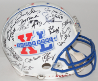 Super Bowl XL LE Full-Size Authentic On-Field Helmet Signed By (42) With Bart Starr, Roger Staubach, Joe Montana, John Elway, Tom Brady, Peyton Manning (Fanatics LOA)
