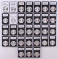 Complete Set of (31) 1986-2016 American Eagle Silver Dollar Coins (NGC PF 69 Ultra Cameo)