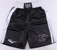 "Roy Jones Jr. Signed Boxing Trunks Inscribed ""90's Fighter of the Decade"" (Schwartz COA)"