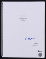 "Val Kilmer Signed ""Tombstone"" Fourth Draft Full Movie Script (Kilmer Hologram & Beckett COA) at PristineAuction.com"