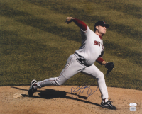 Curt Schilling Signed Red Sox 16x20 Photo (JSA COA) at PristineAuction.com