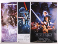 "Set of (3) Star Wars 24x36 Movie Posters with ""Star Wars"", ""Star Wars: The Empire Strikes Back"" & ""Star Wars: Return of the Jedi"" at PristineAuction.com"