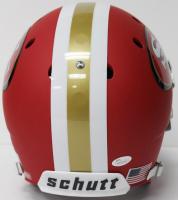 Joe Montana Signed 49ers Full-Size Red Matte Helmet (JSA COA) at PristineAuction.com