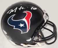 DeAndre Hopkins Signed Texans Mini Helmet (JSA COA) (See Description) at PristineAuction.com