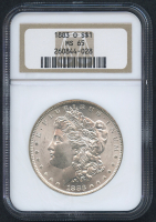 1883-O $1 Morgan Silver Dollar (NGC MS 65)