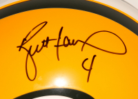 Brett Favre Signed Packers Full-Size Authentic On-Field Helmet (JSA ALOA) at PristineAuction.com