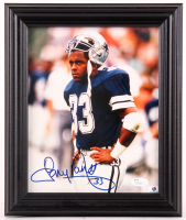 Tony Dorsett Signed Cowboys 10.25x12.25 Custom Framed Photo Display (JSA COA) at PristineAuction.com