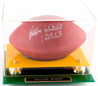 Reggie White Signed Offical NFL Game-Ball with Display Case (JSA ALOA) at PristineAuction.com