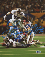Leon Lett Signed Cowboys 8x10 Photo (Beckett COA) at PristineAuction.com