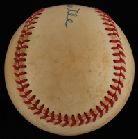 Mickey Mantle Signed Baseball (JSA ALOA) at PristineAuction.com