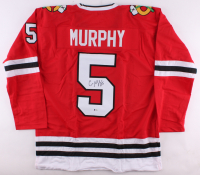 Connor Murphy Signed Blackhawks Jersey (Beckett COA) at PristineAuction.com