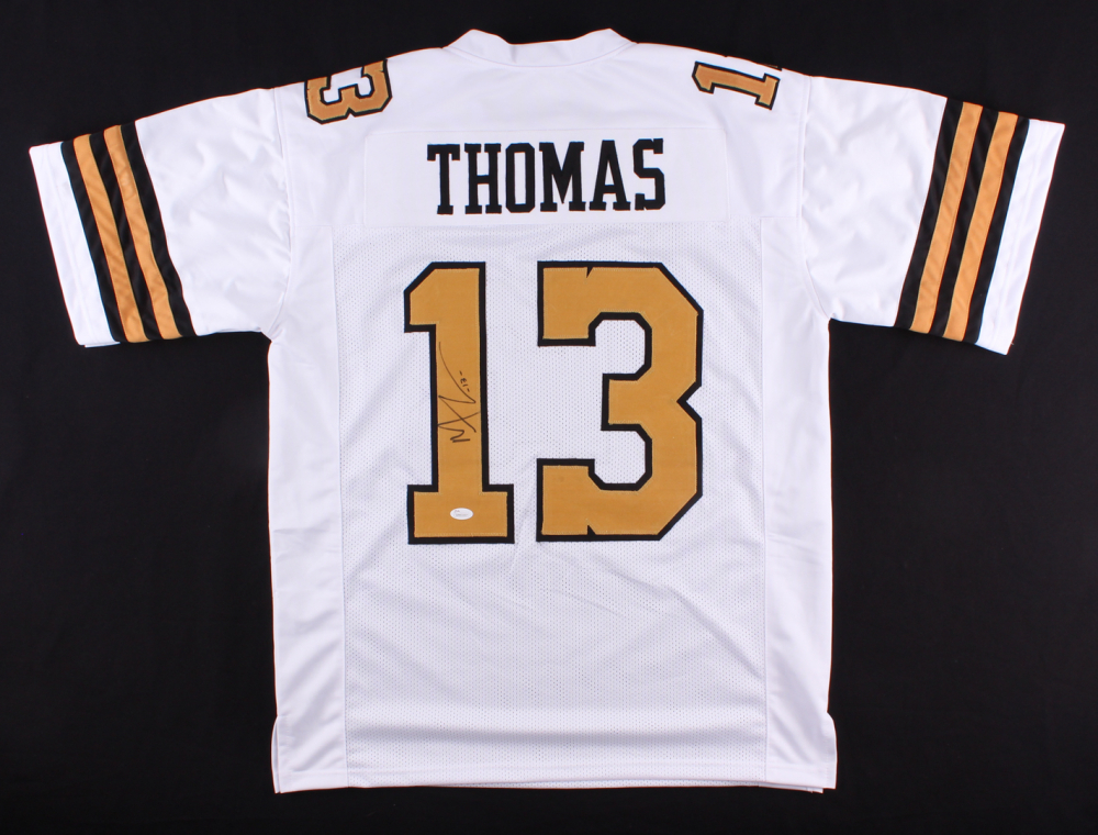 michael thomas saints color rush jersey