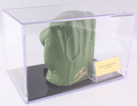 Stan Lee Signed Hulk Fist With Display Case (PSA COA)