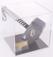 Stan Lee Signed Replica Thor Hammer with Display Case (PSA COA)
