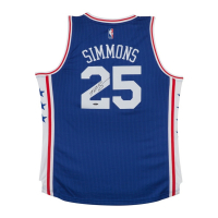 Ben Simmons Signed Philadelphia 76ers Jersey (UDA COA) at PristineAuction.com