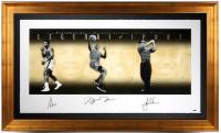 "Muhammad Ali, Michael Jordan & Tiger Woods Signed ""Legends of Sport"" 34x57 Limited Edition Gold Framed Photo (UDA COA) at PristineAuction.com"