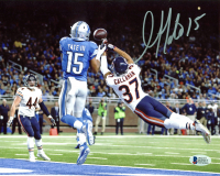 Golden Tate Signed Lions 8x10 Photo (Beckett COA) at PristineAuction.com