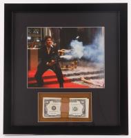 "Al Pacino ""Scarface"" 17.5x18.5 Custom Framed Display with Movie Prop Money"
