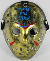 "Ari Lehman Signed Jason ""Friday the 13th"" Hockey Mask Inscribed ""First F'N Jason"" (PSA COA)"