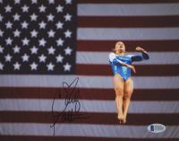 Carly Patterson Signed Team USA Olympics 8x10 Photo (Beckett COA)