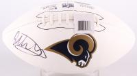Todd Gurley Signed Rams Logo Football (Beckett COA)