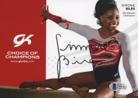 Simone Biles Signed 5x7 Photo (Beckett COA)