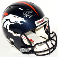 Peyton Manning Signed Broncos Full-Size Authentic On-Field Speed Helmet (Steiner COA)