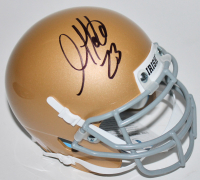 Golden Tate Signed Notre Dame Fighting Irish Mini Helmet (Beckett COA) at PristineAuction.com