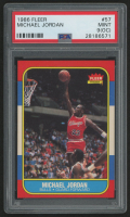 1986-87 Fleer #57 Michael Jordan RC (PSA 9) (OC)
