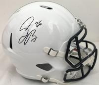 Saquon Barkley Signed Penn State Nittany Lions Full-Size Speed Helmet (JSA COA)