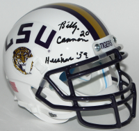 "Billy Cannon Signed LSU Tigers Mini-Helmet Inscribed ""Heisman 59"" (JSA COA)"