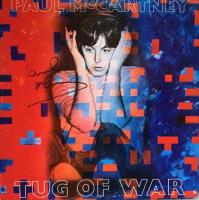 "Paul McCartney Signed ""Tug Of War"" Vinyl Record Album (Beckett LOA)"