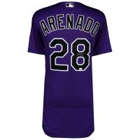 Nolan Arenado Signed Colorado Rockies Jersey (MLB Hologram & Fanatics Hologram) at PristineAuction.com
