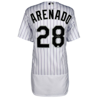 Nolan Arenado Signed Colorado Rockies Jersey (MLB Hologram & Fanatics Hologram) at PristineAuction.com