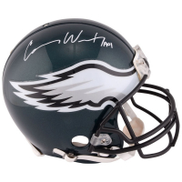 """Carson Wentz Signed Eagles Full-Size Authentic On-Field Helmet Inscribed """"AO1"""" (Fanatics Hologram) at PristineAuction.com"""