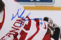 Mike Vernon Signed Red Wings 16x20 Photo (JSA COA) at PristineAuction.com