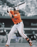 Manny Machado Signed Orioles 16x20 Photo (PSA COA) at PristineAuction.com