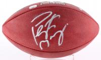 Peyton Manning Signed Super Bowl 50 Logo Football (Steiner COA & Fanatics Hologram)