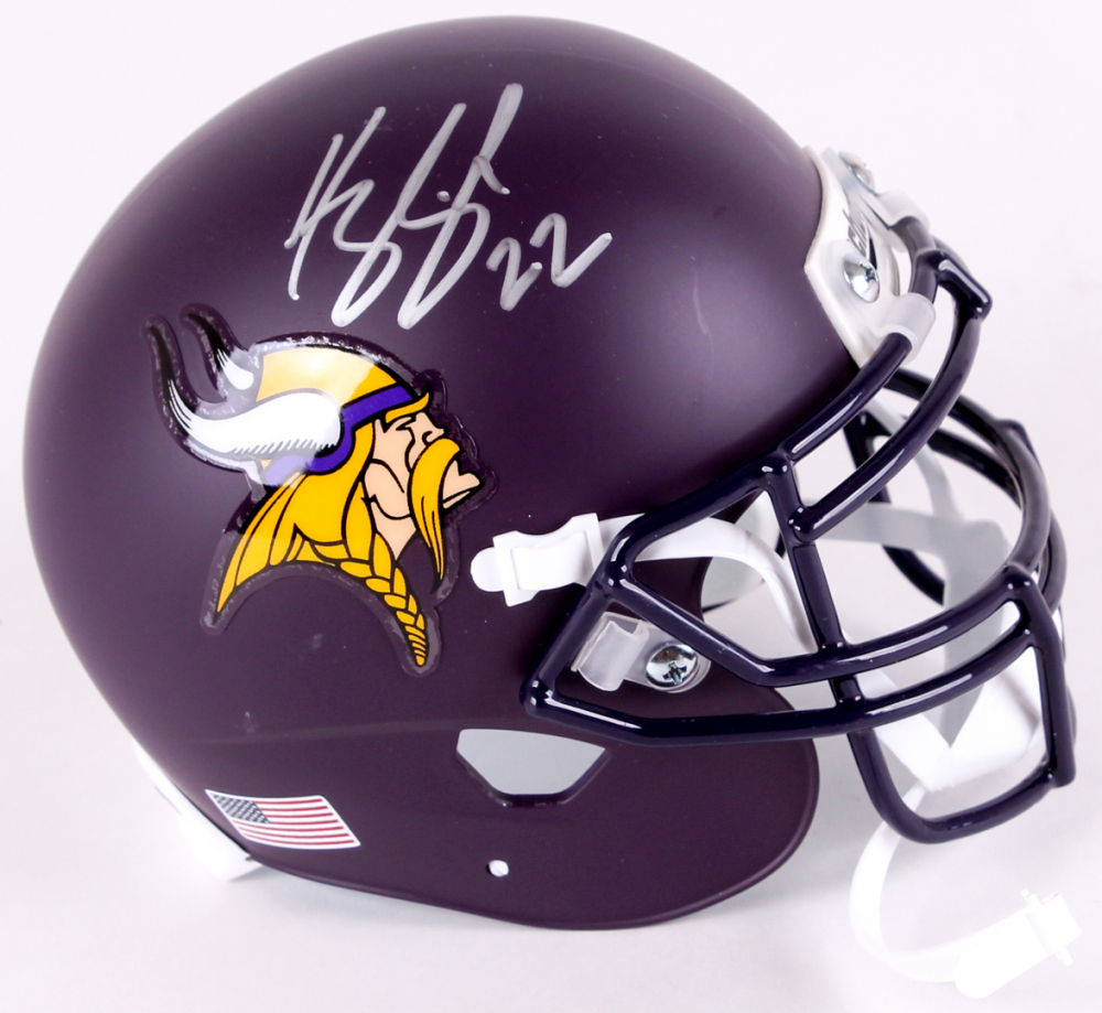 Matte Purple Football Helmet