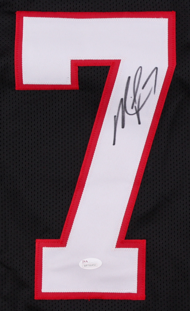 1a9cd9a12 Michael Vick Signed Falcons Throwback Jersey (JSA COA) at  PristineAuction.com